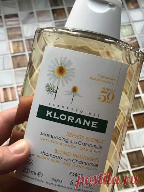 Давно хотела попробовать шампунь для светлых волос: купила KLORANE с ромашкой и делюсь впечатлением   Красотень   Яндекс Дзен
