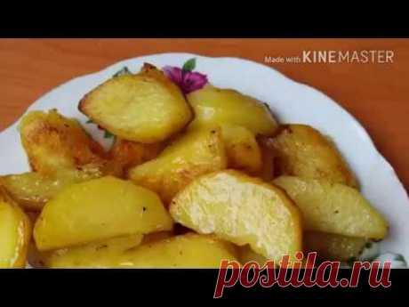 Готовим вкусную картошку в мультиварке
