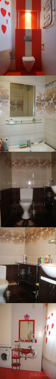 Ванная и туалет. Ремонт в новой квартире | Школа Ремонта