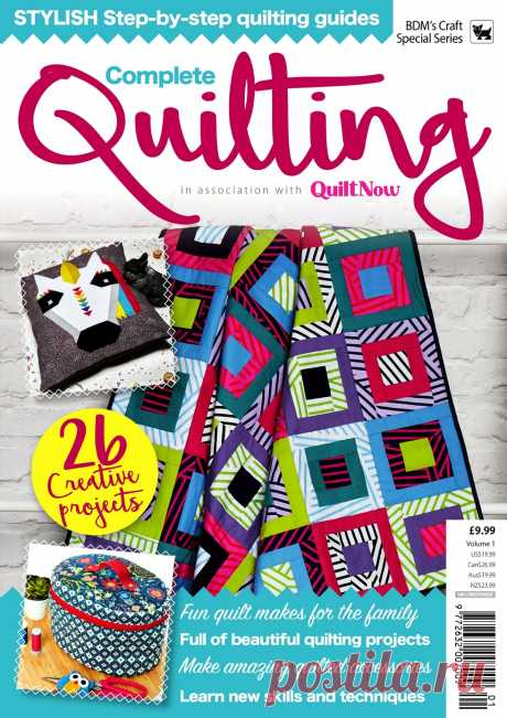 Complete Quilting – August 2019.