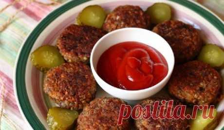 Котлеты из гречневой крупы: с сочными овощами и без мяса