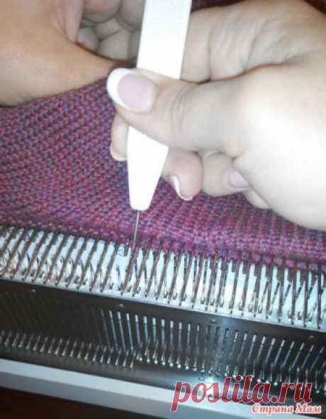 МК по кетлевке на двухфонтурной машине - Вязание - Страна Мам