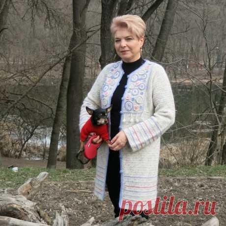 Кардиган - Цветущие Сады - Lilia Vignan