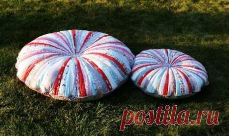 Эта подушка из ненужных лоскутков ткани станет вашей любимой — Копилочка полезных советов