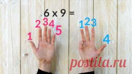 5 гениальных математических трюков, которым не учат в школе.