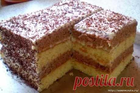 """Самый простой и вкусный торт""""сметанник""""."""