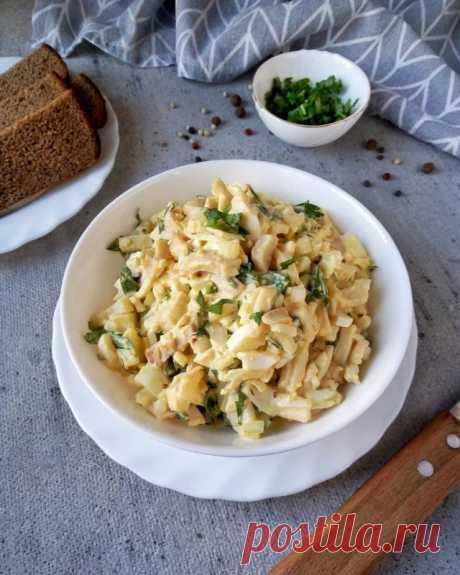 Салат с кальмарами — Sloosh – кулинарные рецепты