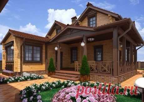 Как вам такой загородный дом?