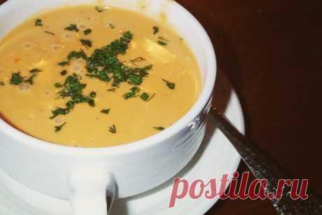 Суп-пюре из раков - блюдо Американской кухни