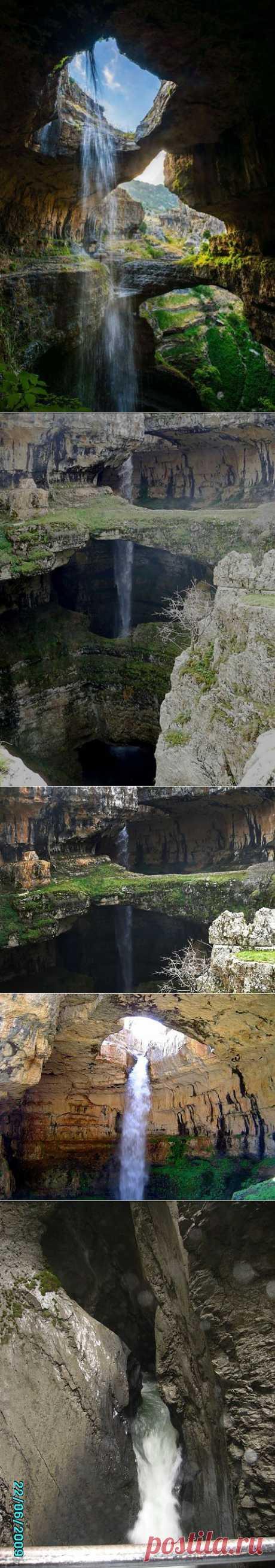 Посмотрим на единственный в своем роде водопад | ЛЮБИМЫЕ ФОТО
