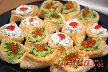 Тарталетки с начинкой, рецепт закуски в тарталетках. Foodclub
