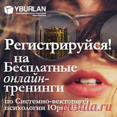 Словарь терминов, используемых в системно-векторной психологии Юрия Бурлана