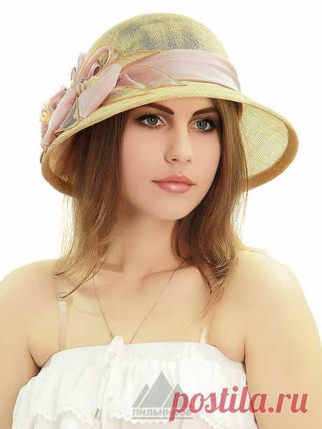 Шляпа Челси - Женские шапки - Из соломки купить по цене 2781 р. с доставкой в Интернет магазине Пильников