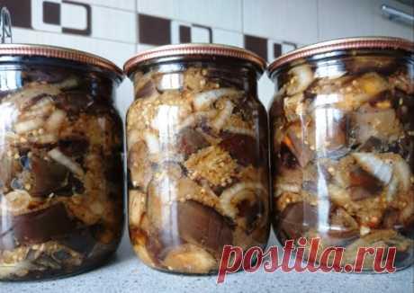 Баклажаны на зиму! Они такие вкусные, что невозможно устоять Баклажаны всегда были одними из самых любимых овощей для зимней консервации. Вот и этот рецепт поможет вам получить очень ароматную, вкусную, острую и пряную закуску, которую можно подавать...