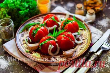 Быстрые помидоры по-армянски — самый вкусный рецепт