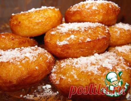 Рисовые пончики – кулинарный рецепт