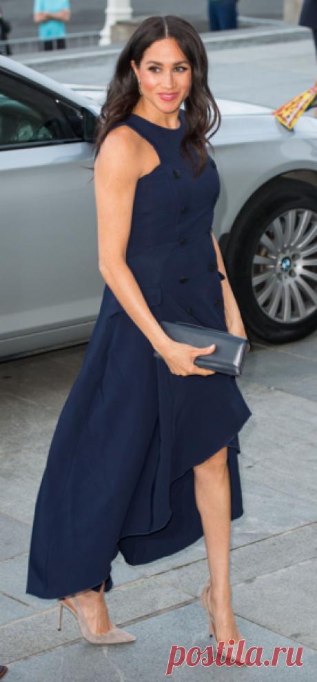 Шикарная Меган Маркл в платье