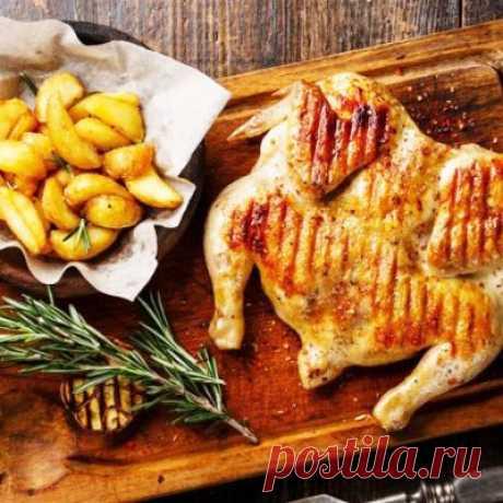 Цыпленок табака - оригинальное блюдо