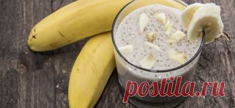 Бананово-имбирный смузи, чтобы помочь сжечь жир на животе! - Стильные советы
