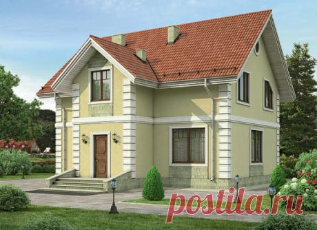 «Дом 6х8 из пеноблоков с мансардой» — карточка пользователя eliz.stromenko в Яндекс.Коллекциях