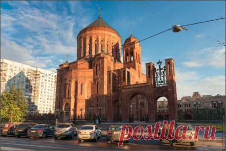 The Armenian cathedral in Moscow