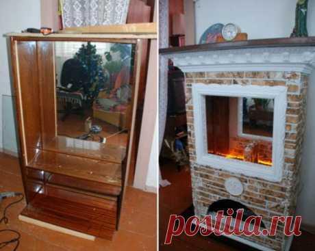 Старая советская мебель до и после переделки