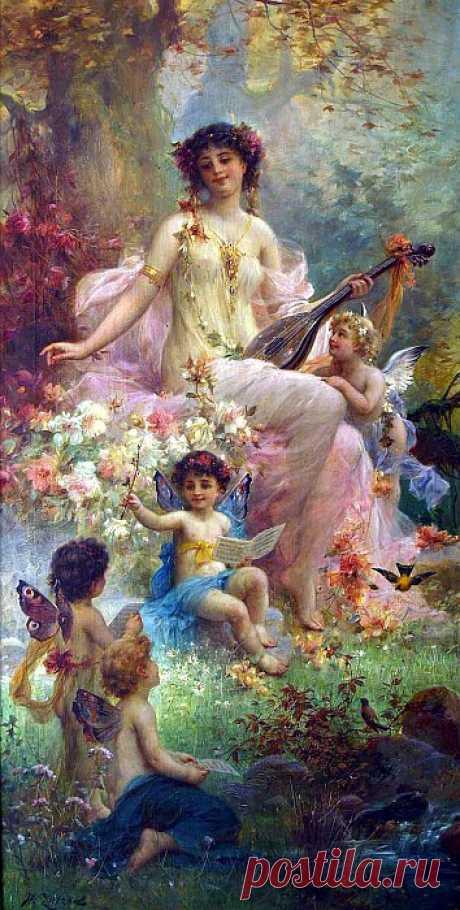 Мистические, прекрасные, желанные и смертельно опасные… Ханс Зацка (1859-1945)