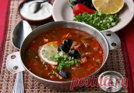 Солянка – интересные рецепты любимого супа / Простые рецепты
