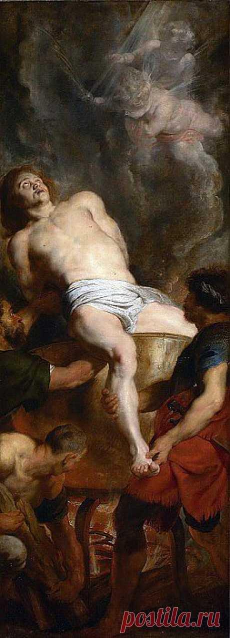 Мученичество Иоанна Богослова. Питер Пауль Рубенс. Описание картины, скачать репродукцию.