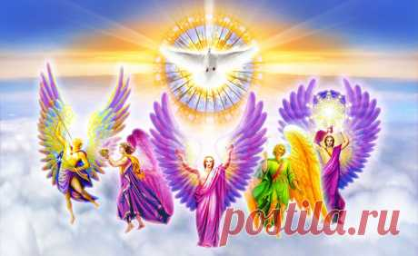 Как правильно призывать Семь Ангелов Исцеления...