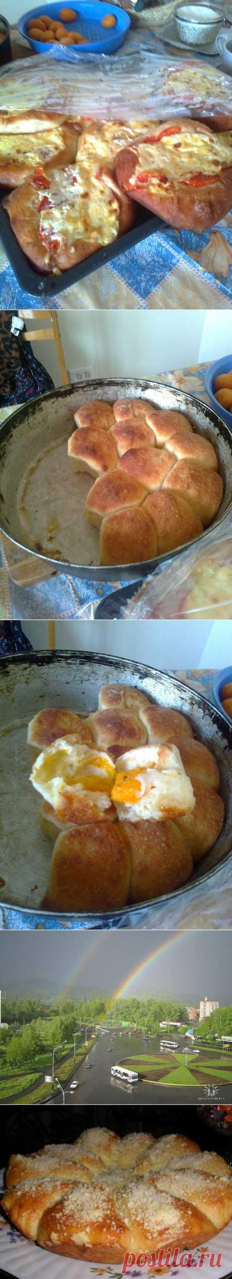 (+1) a subject - Fast pizza + a razbornik with apricots | Favourite recipes