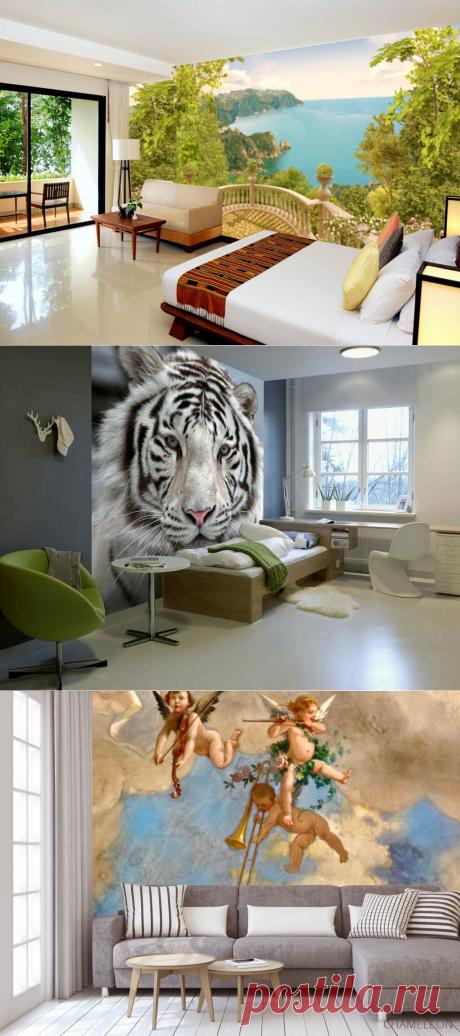 Фотобои, от которых луше отказаться в дизайне интерьера | WOW INTERIOR | Яндекс Дзен