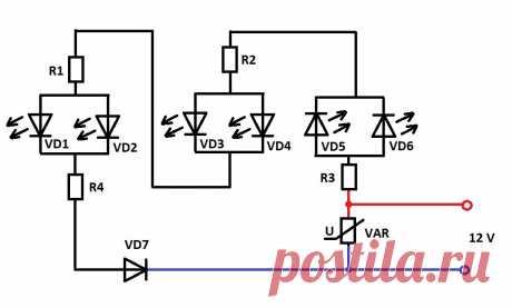 Схема штатного дополнительного стоп-сигнала для Лада Гранта.   AvtoTechLife   Яндекс Дзен