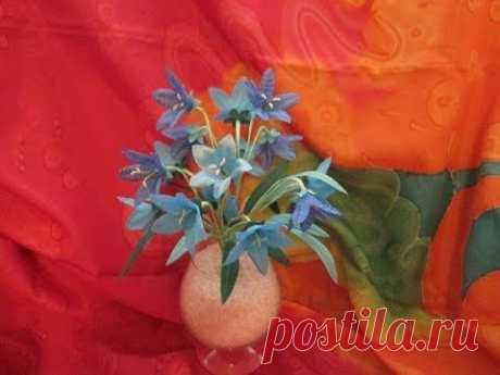 """Цветы из ткани , мастер класс """"Колокольчики"""" / Цветы из ткани / PassionForum - мастер-классы по рукоделию"""