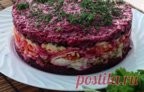 Рецепт нового салата. Блюдо Чингисхан украсит любой стол