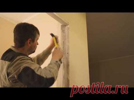 ✅ Неопытная установка металлической двери