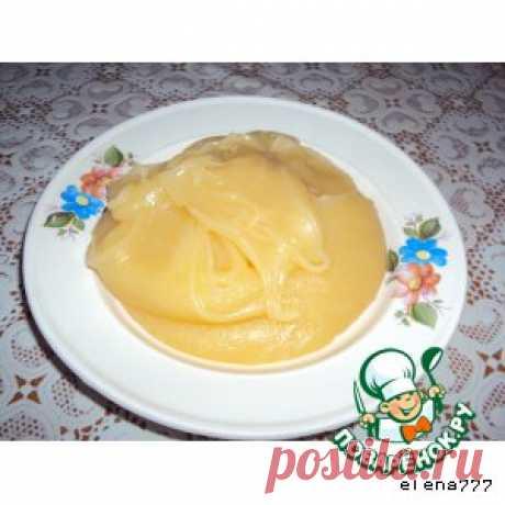 Крем-помадка - кулинарный рецепт