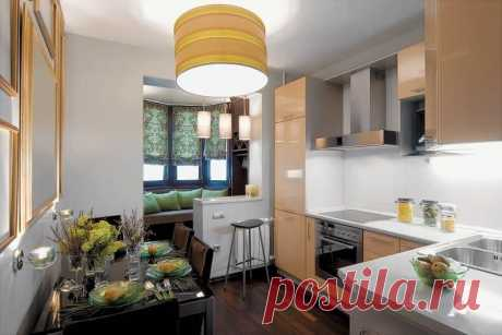 (+1) - 18 идей дизайна для маленьких квартир | Интерьер и Дизайн