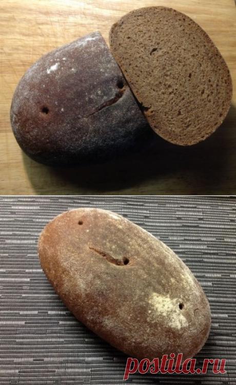 Пшенично-ржаной заварной хлеб : Хлеб, батоны, багеты, чиабатта