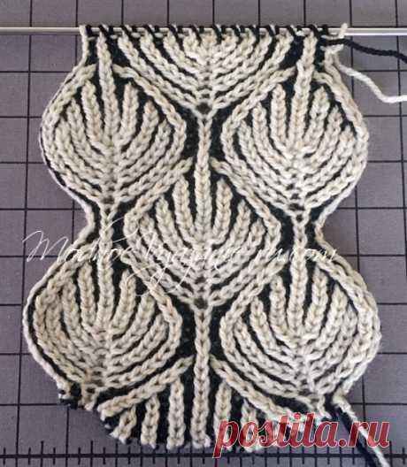 Как делать убавки и прибавки петель в технике бриош - Модное вязание
