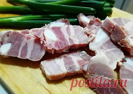 Грудинка свиная, вареная методом су-вид Автор рецепта Елена Некрасова - Cookpad