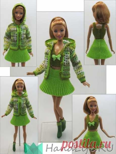Одежда для кукол. Вязание крючком (видео) / Все для кукол