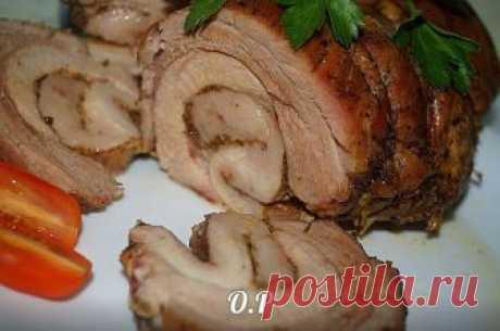 Домашний рулет из свинины - непередаваемый аромат и вкус! Лучшее угощение к праздничному столу!