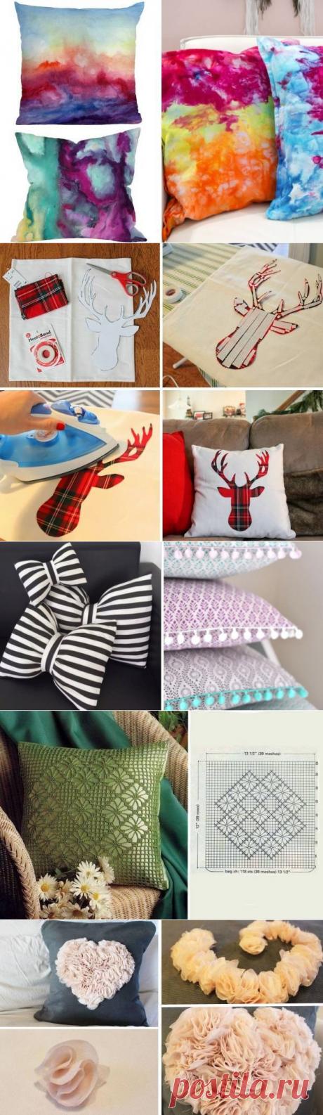 Диванные подушки своими руками: 20 великолепных идей — I Love Hobby — Лучшие мастер-классы со всего мира!