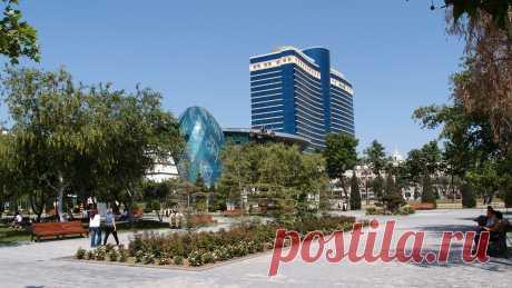 Park Bulvar and Hilton hotel