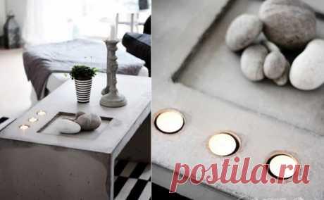 Лечим мебель...бетоном (трафик) / Мебель / ВТОРАЯ УЛИЦА