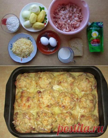 Когда котлеты надоедают, то я готовлю эти мясные шарики. Вкусно и сытно!   Рецепты от Димки   Яндекс Дзен