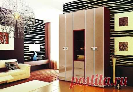 Распашные шкафы ЛДСП глянец; шкаф распашной фасады глянец
