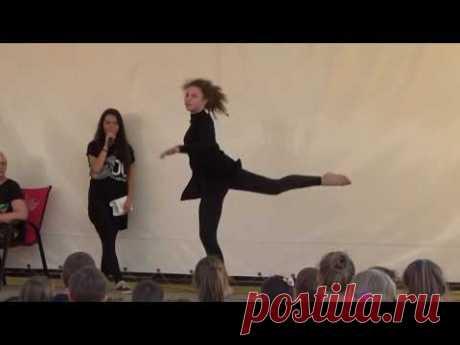 Street Dance. Даша Гецко - Dance School SOL. Summer party in Sumy 31.07.2016 - YouTube