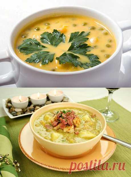 Лучшее из кулинарной классики: гороховый суп / Простые рецепты
